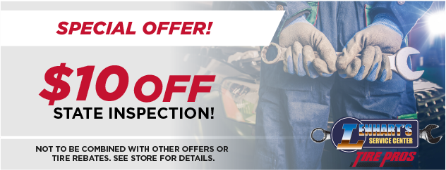 $10 OFF State Inspection!