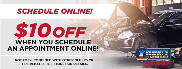 Schedule an Appointment Online and Receive $10 OFF!